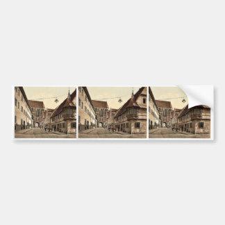 Feuerleins bow windows, Rothenburg (i.e. ob der Ta Bumper Stickers