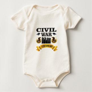 few good civil war men baby bodysuit