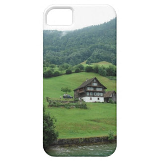 Few houses on the mountain iPhone 5 case