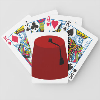 Fez-Hat Bicycle Playing Cards