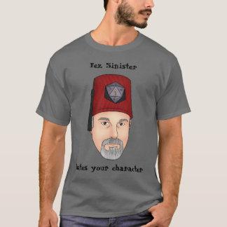 Fez Sinister hates shirt