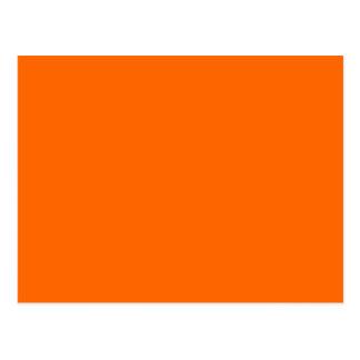 #FF6600 Hex Code Web Color Orange Postcard