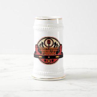 FFAF logo beer stein 18 Oz Beer Stein