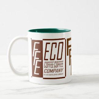 FFE ECO COFFEE COFFEE COMPANY Two-Tone MUG