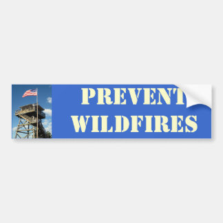 FFLA, PREVENT-WILDFIRES BUMPER STICKER