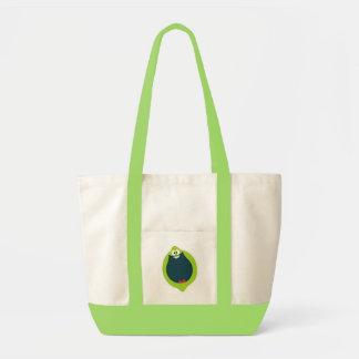 ffweb-lime impulse tote bag