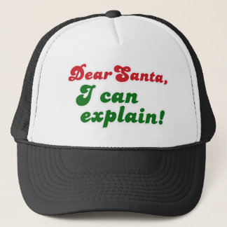 FGD - Dear Santa, I can explain Trucker Hat