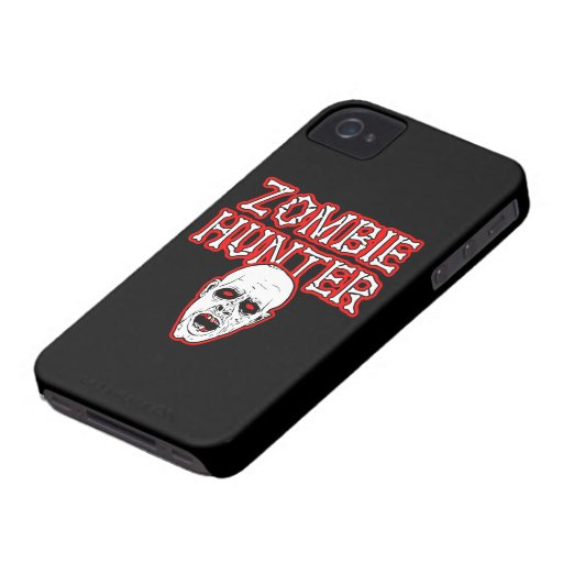 FGD - Zombie Hunter iPhone 4 Case-Mate Cases