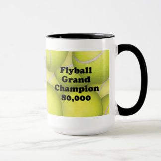 FGDCh 80K Flyball Grand Champion 80K Ringer Mug