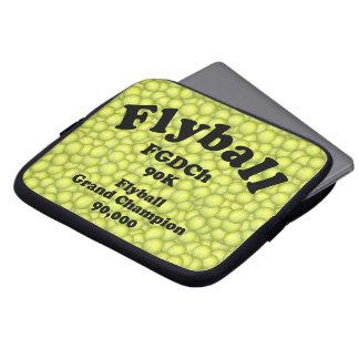 FGDCh 90 K, Flyball Grand Champ, 90,000 Points Laptop Sleeve