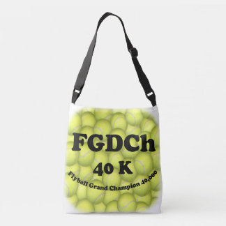FGDCh, Flyball Grand Champ, 30,000 Points Crossbody Bag