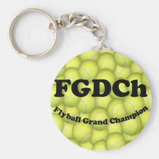 FGDCh, Flyball Grand Champ, 30,000 Points Key Ring