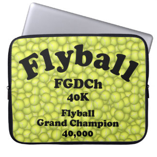 FGDCh, Flyball Grand Champ, 40,000 Points Laptop Sleeve