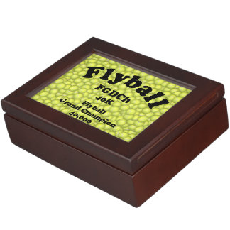 FGDCh, Flyball Grand Champ, 40,000 Points Memory Boxes