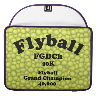 FGDCh, Flyball Grand Champ, 40,000 Points Sleeve For MacBooks
