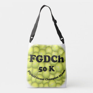 FGDCh, Flyball Grand Champ, 50,000 Points Crossbody Bag