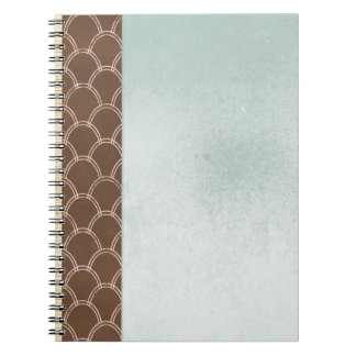 FGN01 DECORATIVE BACKGROUNDS WALLPAPERS  TEMPLATES SPIRAL NOTEBOOK
