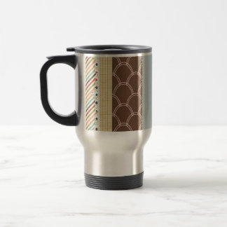 FGN01 DECORATIVE BACKGROUNDS WALLPAPERS  TEMPLATES STAINLESS STEEL TRAVEL MUG
