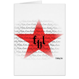 FHL (Faith, Hope & Love) All Star Logo Card