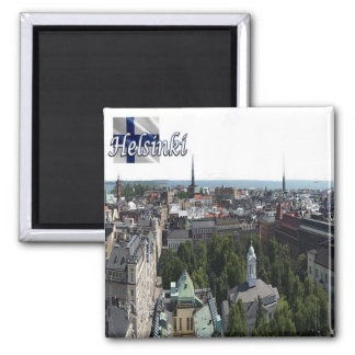 FI - Finland - Helsinki – Panorama Magnet