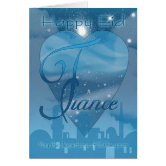 Fiance - Eid Day Card - Happy Eid