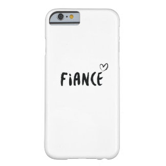 Fiance  Engaged  Wedding Married Gift Wedding Barely There iPhone 6 Case