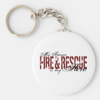 Fiance Hero - Fire & Rescue Basic Round Button Key Ring