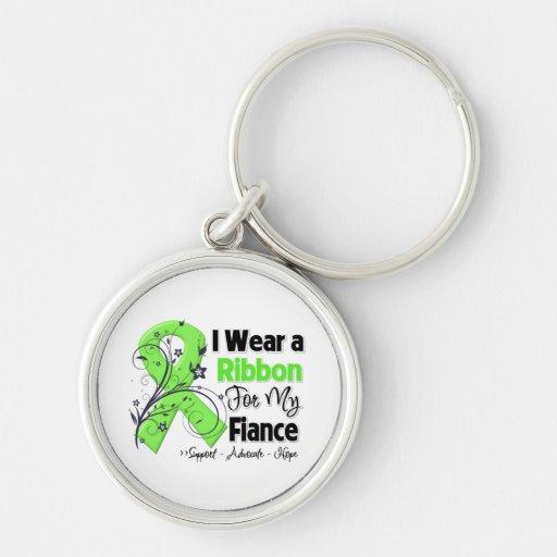 Fiance - Lymphoma Ribbon Key Chain