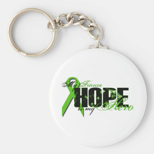 Fiance My Hero - Lymphoma Hope Key Chain