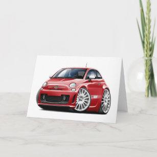 Fiat 500 Cards Zazzle Au