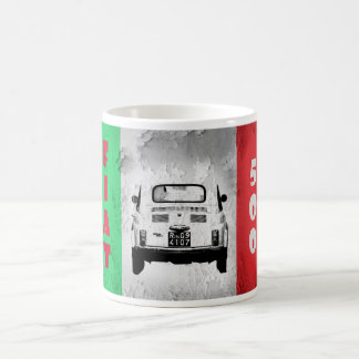 Fiat 500, Cinqucento, in Rome, Italy Coffee Mugs