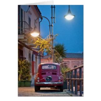 Fiat 500, Cinquecento in Italy Card