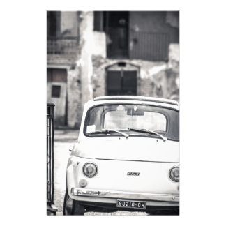 Fiat 500, Cinquecento in Italy Customised Stationery