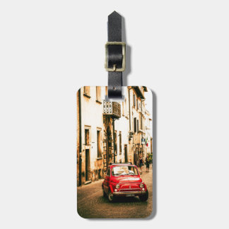 Fiat 500 Cinquecento in Italy. Luggage Tag