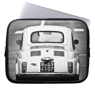 Fiat 500, cinquecento, in Rome, Laptop sleeve