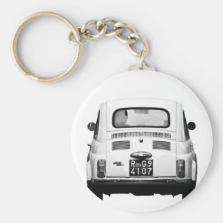 Fiat 500 in Rome, Italy. Key Chains