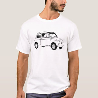 Fiat 500 inspired t-shirt