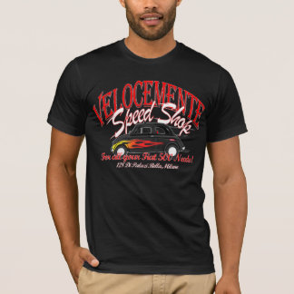 Fiat 500 speed shop t-shirt! T-Shirt