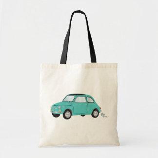 Fiat 500 Tote Bag