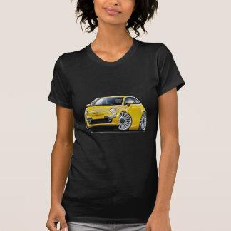 Fiat 500 Yellow Car T-Shirt