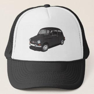 Fiat 600 (Seicento) black cap