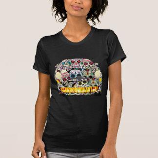 Fiat Abarth SuGar Skulls T-Shirt