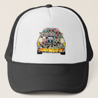 Fiat Abarth SuGar Skulls Trucker Hat
