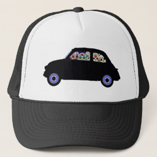 Fiat Filled With Sugar Skulls Trucker Hat
