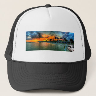 Fiat on A Pier Trucker Hat