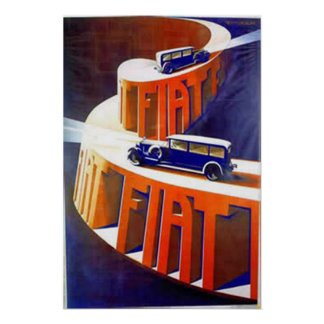 Fiat Poster