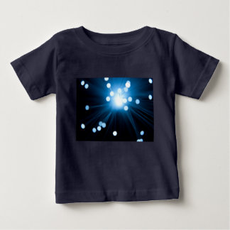 Fiber optic abstract. baby T-Shirt