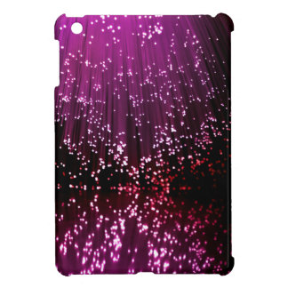 Fiber optic abstract. iPad mini case