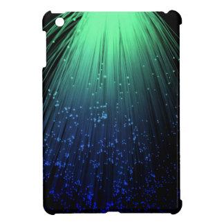 Fiber optic abstract. iPad mini covers