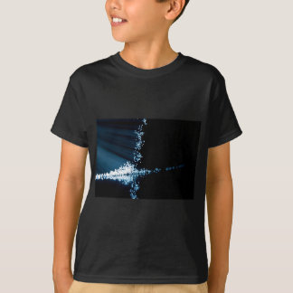 Fiber optic abstract. T-Shirt